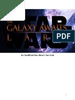 The Galaxy Awaits Larp Rules