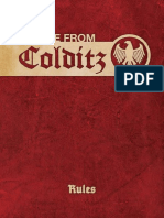 Escape from Colditz Rulebook (Osprey)