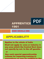 Apprentices Act 1961