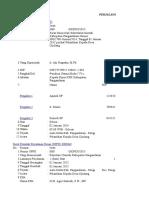 Contoh Format SPJ Perjalanan Dinas SPPD
