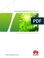 Huawei Tecal RH2285 Rack Server Brochure