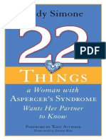 22 Things a Woman With Asperger - Rudy Simone