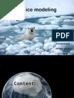 Sea Ice Modeling