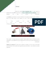 Tipos y Clasificación de Válvulas