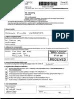 Auckland Future registration documents
