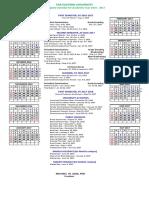 Collegiate Calendar for AY 2016-2017 Aug 1 Updated