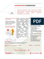 Modul Presentation With Powerpoint