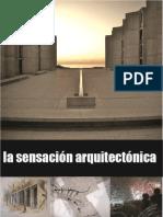 Sensación de La Arquitectura