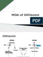 MOA of Diltiazem