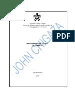 40120-Evi 84- Banco de Trabajo Mantenimiento Preventivo y Correctivo