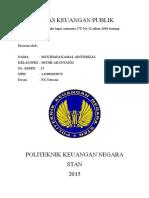 RESUME UU No.32 tahun 2004 tentang Pemerintahan Daerah.docx