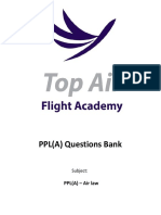 PPL(A) Question Bank