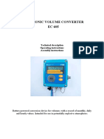 Electronic volume corrector RMG