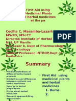 Herbal Medicine vs Syntheric