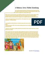 Cerita Rakyat Bahasa Jawa Malin Kundang21