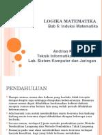 Slide Bab 5 Induksi Matematika