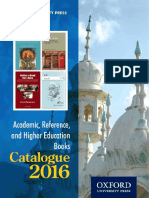Academic Trade and Higher Education Books 2016