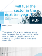 BBVA -What will fuel the auto sector in the next ten years.ppt