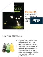 IMPChapter 24Responsibility Accounting and Performance Evaluation Noblesfinmgr