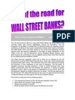 Is It the End of the Road for Wall Street Banks?-VRK100-28062010