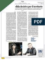 Industria 4.0  sfida decisiva per il territorio - IL MESSAGGERO Umbria 12 Gen 2017