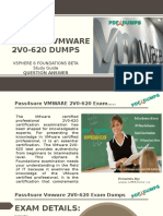 Pass4sure 2v0-620 VMware Exam Questions
