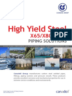CanadOil High Yield Steel