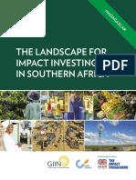 Madagascar Et l'Investissement Social