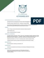 SAF actividades 2010