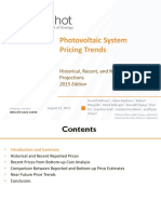 Photovoltaic System Pricing Trends 2015 Edition