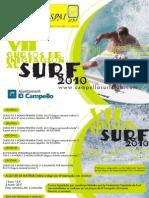 VII Cursos iniciación al surf 2010(precios)