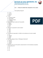 Practice Problem No. 1