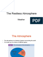 the restless atmosphere