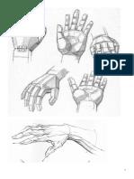 DAR 1 Estudio figura, manos y pies.