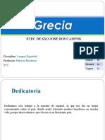 Trabalho de Espanhol sobre a Grécia
