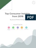 Prophesee Consumer Insights Social Media 2016
