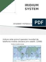 Iridium Sistem