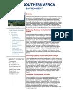 Environment Portfolio