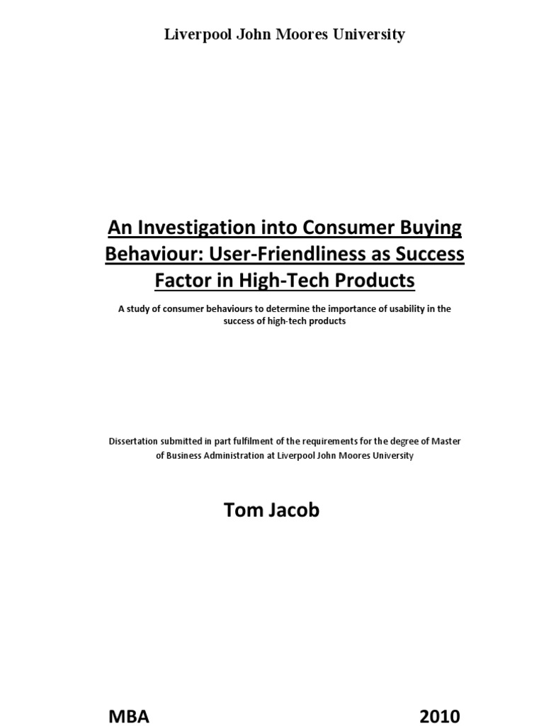Buying a dissertation online behaviour