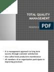 Total Quantity Management