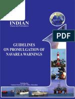 Guidelines on Promulgation of NAVAREA Warnings