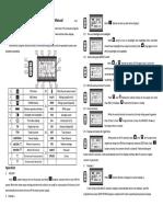 Sport TS KT LCD3 Error Codes