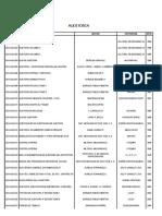 Lista Delibros de Audi Buenos