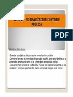 Tema 2 Normalización Contable Pública