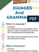 P7. Languages and Grammars