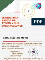 3 Estructura Basica Del Atomo y Sus Interacciones