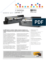 ZXP Series 7 Datasheet Spanish EMEA