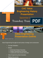 Value Engineering and Cost Mitigation Efforts 9-9-14