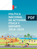 Política Nacional de Actividad Física y Deporte 2016-2025.pdf