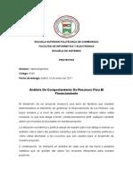 Análisis de los cambios Económicos de Ecuador en el 2017